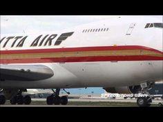 Kalitta Air Cargo Boeing 747-251B(SF) [N795CK] Taxi and Takeoff - YouTube