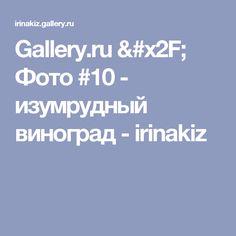 Gallery.ru / Фото #10 - изумрудный виноград - irinakiz