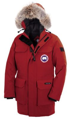 I just like this Canada Goose Citadel Parka Red Mens