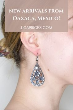 Handmade jewels curated for you from Mexico! Mexican Jewelry, Trendy Girl, Mexico, Jewels, Drop Earrings, Handmade, Oaxaca, Hand Made, Jewerly