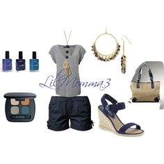 Summer, created by lilmomma3 on Polyvore
