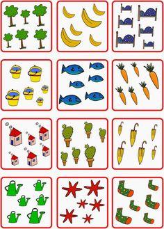 Lernstübchen: Würfelbilder und Anzahlen bis 6