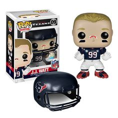 NFL JJ Watt Wave 1 Pop! Vinyl Figure - Funko - Sports  Football - a22919b1a47
