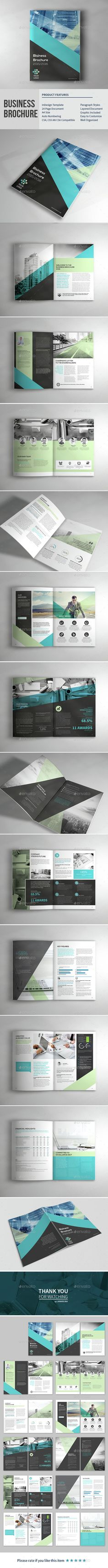 Business Corporate Brochure Template InDesign INDD. Download here: http://graphicriver.net/item/business-corporate-brochure/15241933?ref=ksioks                                                                                                                                                                                 More
