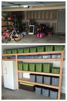 Brilliant Garage Organizations And Storage Ideas 720