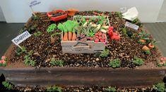 Image result for veggie garden cake
