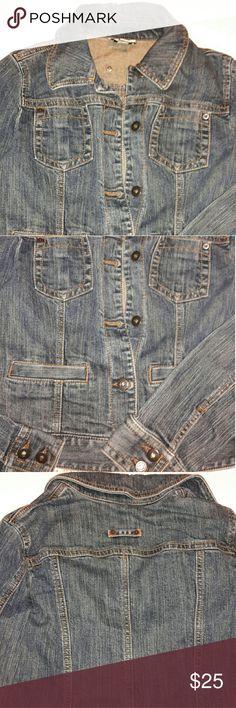 Ann Taylor Loft Size 2 Jean Jacket small Ann Taylor Loft Size 2 Jean Jacket small Ann Taylor Jackets & Coats