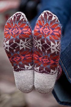 Interweave Knits, Fall 2009: Bandelier Socks - Knitting Daily