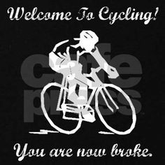 Funny gifts and apparel for cyclists with a sense of humor!