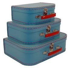 ladies pink vintage suitcase - Google Search