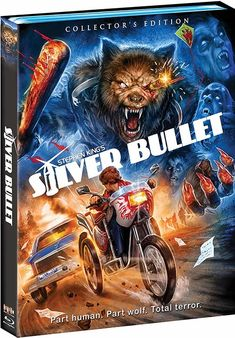 Stephen King werewolf movie 'Silver Bullet' is getting a Collector's Edition Blu-ray 1980s Horror Movies, Scary Movies, Horror Films, Lawrence Tierney, Terry O'quinn, Corey Haim, Blu Ray Collection, Blu Ray Movies
