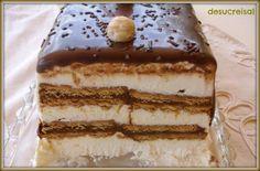 RECETA TARTA HELADA DE GALLETAS, Esta tarta yo diria que está entre la tarta comtesa y el tiramisu…,,suave helado de nata .galletas ..con un toque de café