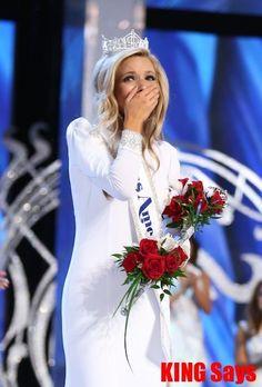 Miss New York Kira Kazantsev Crowned Miss America 2015