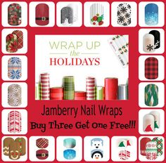 Jamberry 2015 Christmas Collage