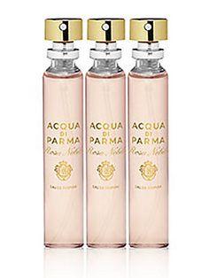 Acqua Di Parma Rosa Nobile Purse Spray Refill/Set of 3, 0.68 oz. each