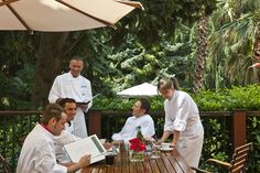 At Du Lac et Du Parc Grand Resort you can taste regional, Italian and international cuisine prepared by our Chef with creative flair.  www.dulacetduparc.com