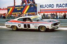 Allen Moffat with Jackie Ickx 1977 Bathurst victory in a broken car