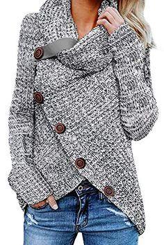 GOSOPIN Damen Tarnjacke Langarm Strickjacke Tarnmantel Damen Vintage Mode Outwear Streetwear