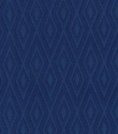 Waverly Solid Fabric-Fantastical/Navy
