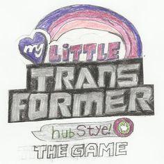Title Logo for My Little Transformer Hubstyle by TriforceTreasureMLP.deviantart.com on @DeviantArt