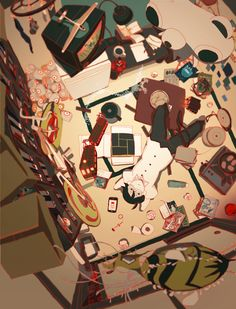 Tatami Galaxy is simply amazing. What a unique way of representation. A must watch. Read my review here http://www.theyorouzoya.com/2015/09/TatamiGalaxy.html