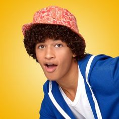 Surfs Up! New Disney Channel Original Movie: Teen Beach Movie Cast Photo Seacat (Jordan Fisher)