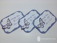 www.stampenvy.ca, stampin' up!, wedding tag