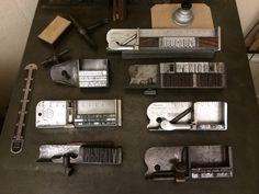 Composing letterpress