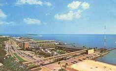 """Buena Vista Hotel-Motel, Biloxi, Miss."" Postmarked 1971. See full-sized postcard"