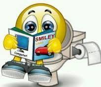 Resultado de imagen de smiley reading