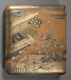 Writing Box, late 18th century Japan, Edo Period (1615-1868) lacquer with gold on wood,