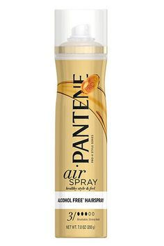 This alcohol-free hairspray holds our curls and waves in place without making them feel dry or crunchy. Pantene Airspray Alcohol Free Hairspray, $5.99, available at Drugstore.com. #refinery29 http://www.refinery29.com/new-drugstore-makeup-products#slide-16