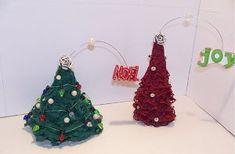 Mini Lace Christmas Tree Tutorial | AllFreeHolidayCrafts.com