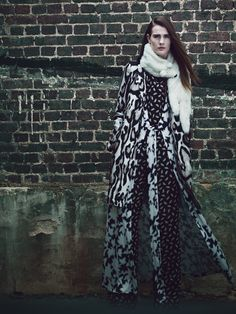 Fall Fashion: New York Designers Claim Their Turf  - This page: Diane von Furstenberg coat, dress, and jumpsuit