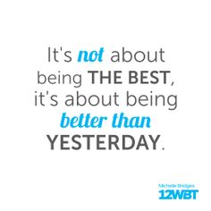This saying applies to much more than exercise #12WBT