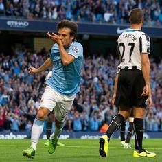 David Silva #Manchester City