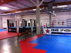 Party at MMA Gym Jiu Jitsu Gym, Martial Arts Belt Display, Fight Gym, Martial Arts Belts, Mma Gym, Studio Layout, Gym Interior, Boxing Gym, Gym Decor