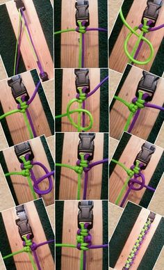 Great little how-to on making a paracord dog collar for the outdoors