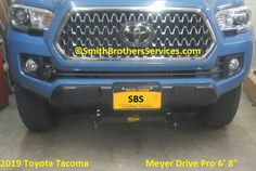 New truck, old plow. Snow Plow, New Trucks, Toyota Tacoma, Over The Years, Tacoma World