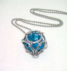 magic the gathering dice necklace dungeons by Eternalelfcreations, $12.00