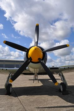 Hawker Sea Fury /by Richard.Crockett #flickr #plane #propeller