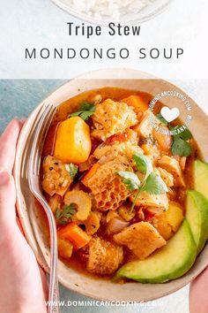 Tripe Recipes, Beef Soup Recipes, Crockpot Recipes, Tripe Soup, Hispanic Dishes, Best Instant Pot Recipe, Delicious Dinner Recipes, Dominican Republic, Stew