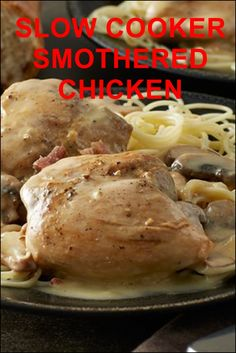 Slow Cooker Chicken Creamy, bacon-flecked and savory, this slow cooker version of a Southern classic chicken dish may be the definition of…