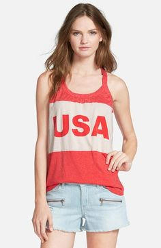 Chaser+'USA'+Graphic+Tank+available+at+#Nordstrom