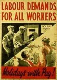 Labour Demands for All Workers - between 1930 and 1938