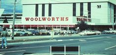 Woolworths, McCrae Street, Dandenong, Late 1970s/Early 1980s. Time In Australia, Terra Australis, Melbourne Victoria, Historical Images, The Old Days, Tasmania, Vintage Pictures, Old Photos, Nostalgia