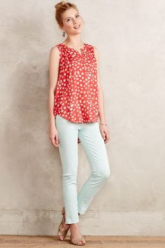 J Brand 8312 Mr Cropped Rail Jeans - anthropologie.com 2015