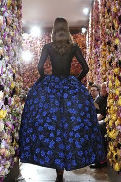 Embroidered perfection at Dior Couture, Fall 2012