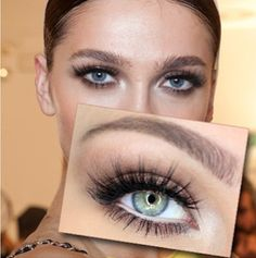 Gorgeous makeup look done by the talented @katosu! 'Doll Me Up' VelourLashes.com