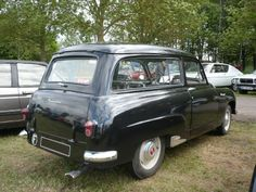 SIMCA Aronde Messagère 1955